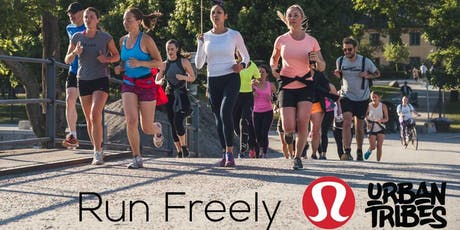 lululemon Run Freely x Urban Tribes tickets