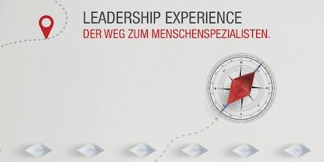 LEADERSHIP EXPERIENCE® - DER WEG ZUM MENSCHENSPEZIALISTEN Tickets