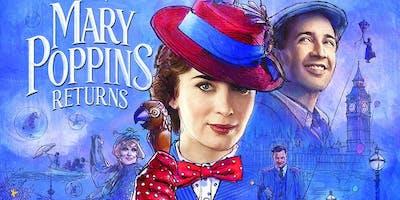 Mary Poppins Returns (+ Pizza!)