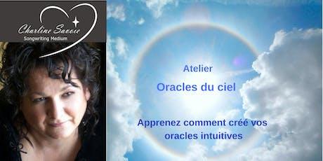 Atelier Oracles du ciel billets