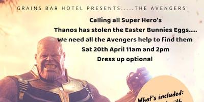 Easter Egg Hunt Avengers