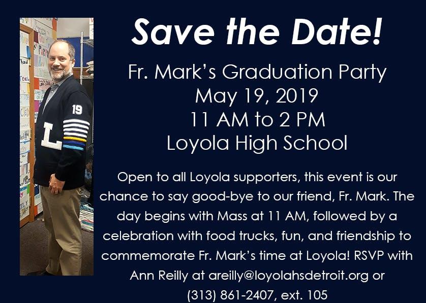 Fr. Mark's Graduation Party