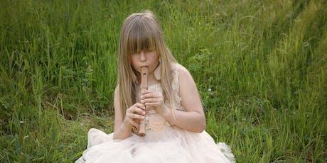 Música para Crianças (Flauta) ingressos