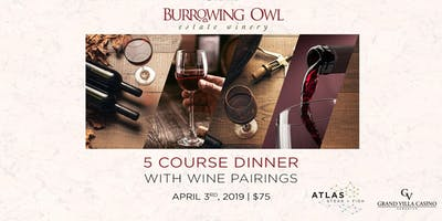 Wine Society Atlas ICE District (Burrowing Owl Estate Winery)