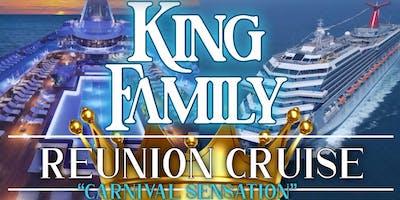 King Family Cruise Reunion - Carnival Sensation- 5night - 15th Feb - 20th Feb 2020