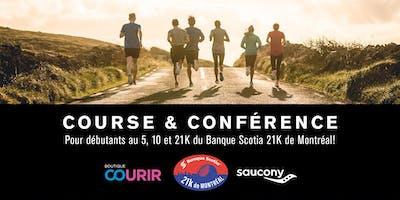 Course et Conférence pour débutants au 5,10 et 21K du Banque Scotia 21K de Montréal