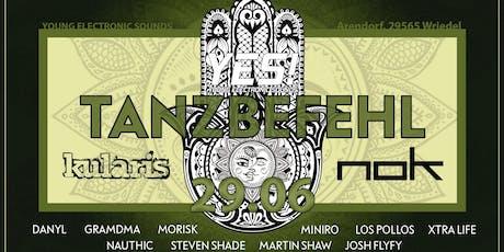 Tanzbefehl 2019 Tickets