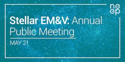 EM&V Annual Public Meeting: Stellar EM&V