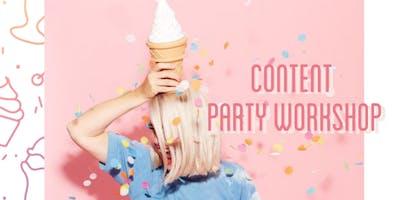 Instagram Content Party Workshop