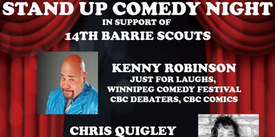 14TH BARRIE SCOUTS STANDUP COMEDY NIGHT