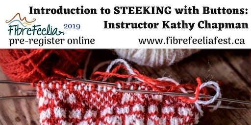 Introduction to Steeking Fair Isle Workshop with Kathy Chapman