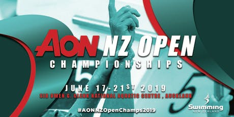 2019 AON New Zealand Open Championships tickets