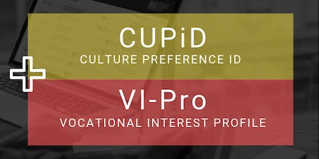 Vocational Interest Profile & Culture Preference ID Practitioner Training  tickets