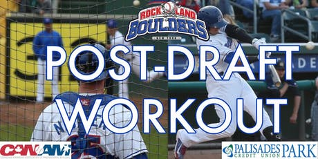 Rockland Boulders Post Draft Workout tickets
