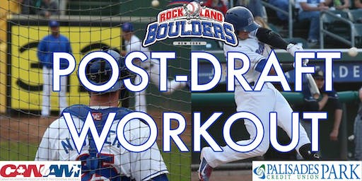 Rockland Boulders Post Draft Workout