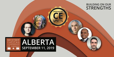 Recovery Capital Conference of Canada - Calgary Alberta tickets