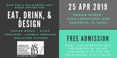 Eat, Drink, and Design