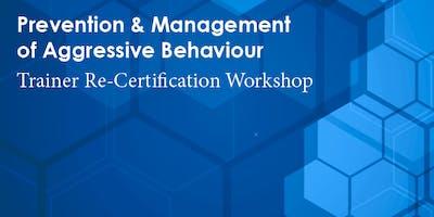 PMAB Trainer Re-Certification: London (November 21-22, 2019)