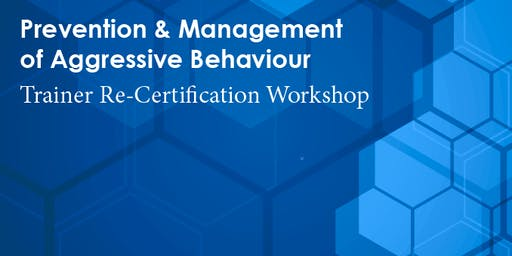 PMAB Trainer Re-Certification: London (November 21-22, 2019)