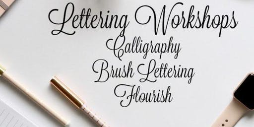 Step 1: Basic Hand Lettering Class – Preparation for Calligraphy or Lettering