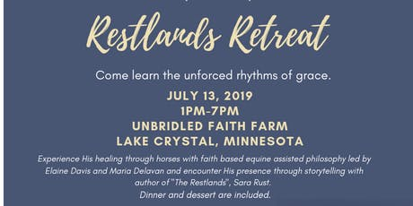 Restlands Retreat at Unbridled Faith tickets