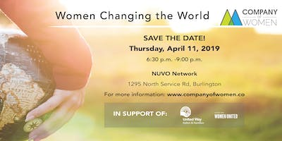 Women changing the world - A fundraiser for the United Way of Halton Hamilton