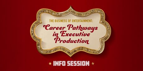 The Business of Entertainment: Career Pathways in Executive Production billets