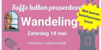 Wandelen in Ellewoutsdijk met boeren boterhammen lunch