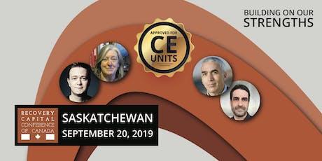 Recovery Capital Conference of Canada - Regina Saskatchewan tickets