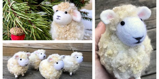 Felted Sheep Workshop, June 23 2019