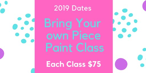 July Bring Your Own Piece Paint Party