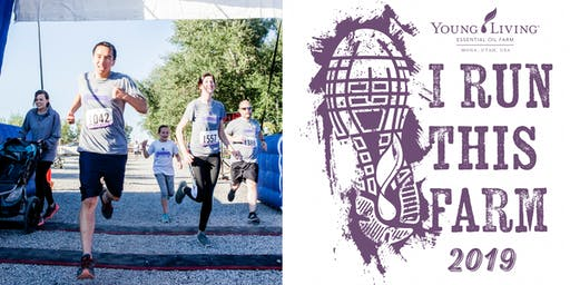 Young Living Run the Lavender 5K 2019