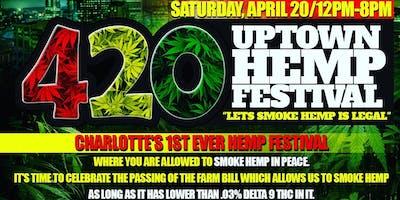 "420 Uptown Hemp Festival ""Let's Smoke It's Legal"" #farmbill #CBD #420 #hemp #burnone"