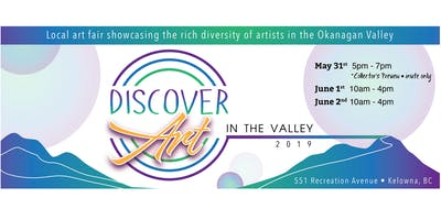 DISCOVER Art in the Valey 2019