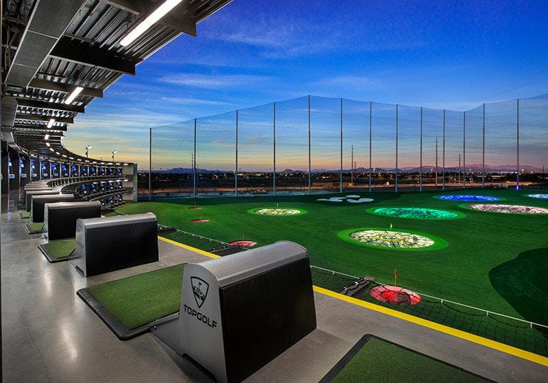Top Golf with Guest Speaker Kelly Cook