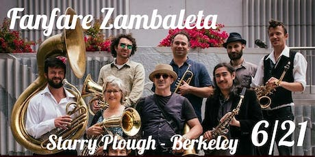 EEFC Balkan Camp preparty with Fanfare Zambaleta and MELEZ @ The Starry Plough Pub tickets