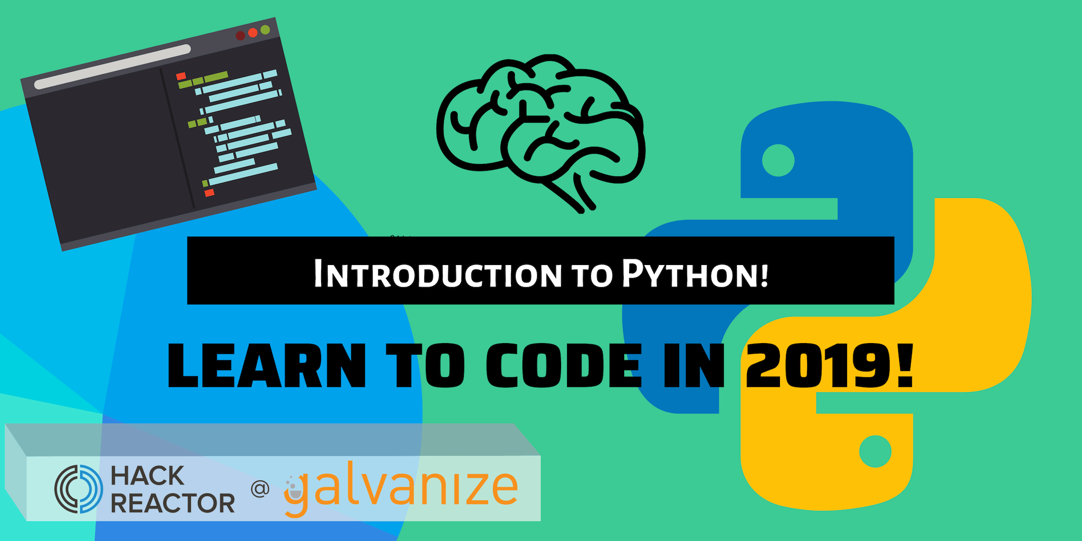 Learn to Code! Introduction to Python