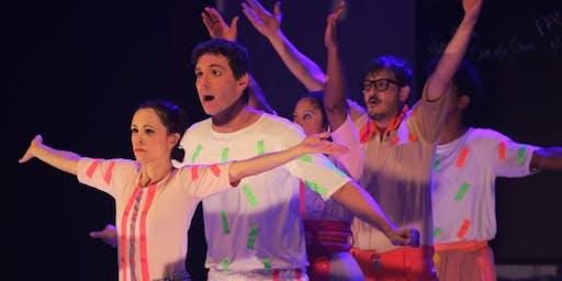 """Desconto! Espetáculo """"A História do Brasil"""" no Teatro Viradalata"""