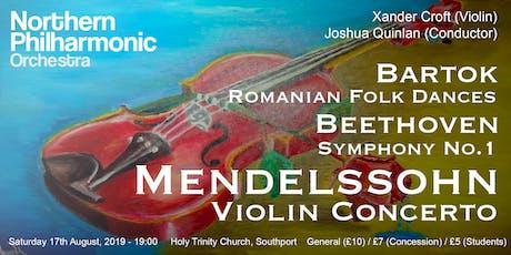 Mendelssohn: Violin Concerto (NPO Debut Concert) tickets