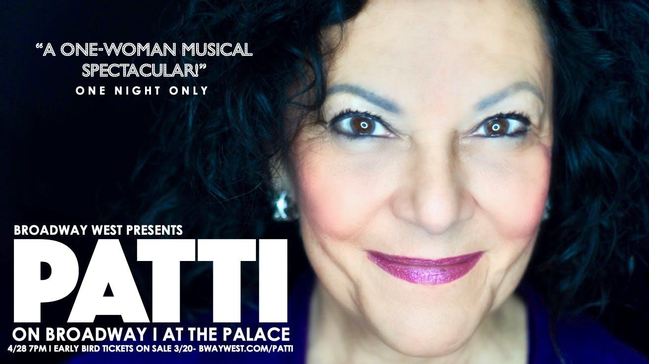 'PATTI' on Broadway
