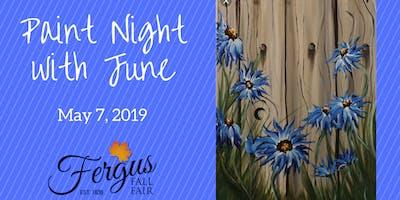 Paint Night with June - Fergus Fall Fair Fundraiser