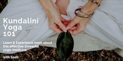 Kundalini Yoga 101 - Workshop for Beginners