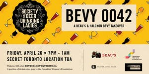 Society of Beer Drinking Ladies - Beau's & Halcyon...