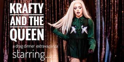 Krafty And The Queen: A drag dinner extravaganza starring Perla Coddington