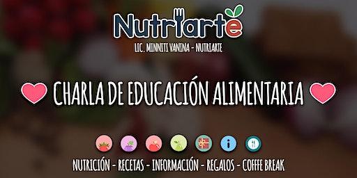 Charla de educación alimentaria 2020 by nutriarte.argentina