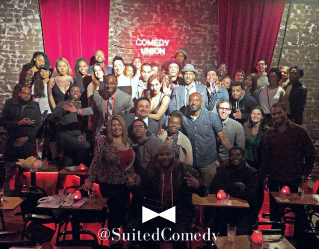 SUITED COMEDY: 2 YEAR ANNIVERSARY SHOWCASE