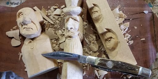 Whittling / Woodcarving Workshop - Beginners Level