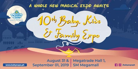 10th Baby, Kids & Family Expo Philippines tickets