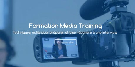 Formation Média Training De Crise - Paris billets