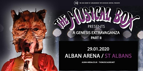 The Musical Box: A Genesis Extravaganza 2020 (Alban Arena, St Albans) tickets